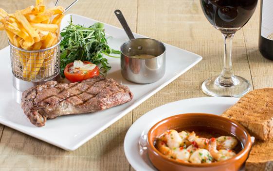 Ego Mediterranean Restaurants Steak Menu