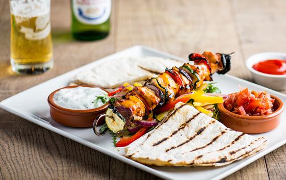 Ego Mediterranean Restaurants Kebab Menu