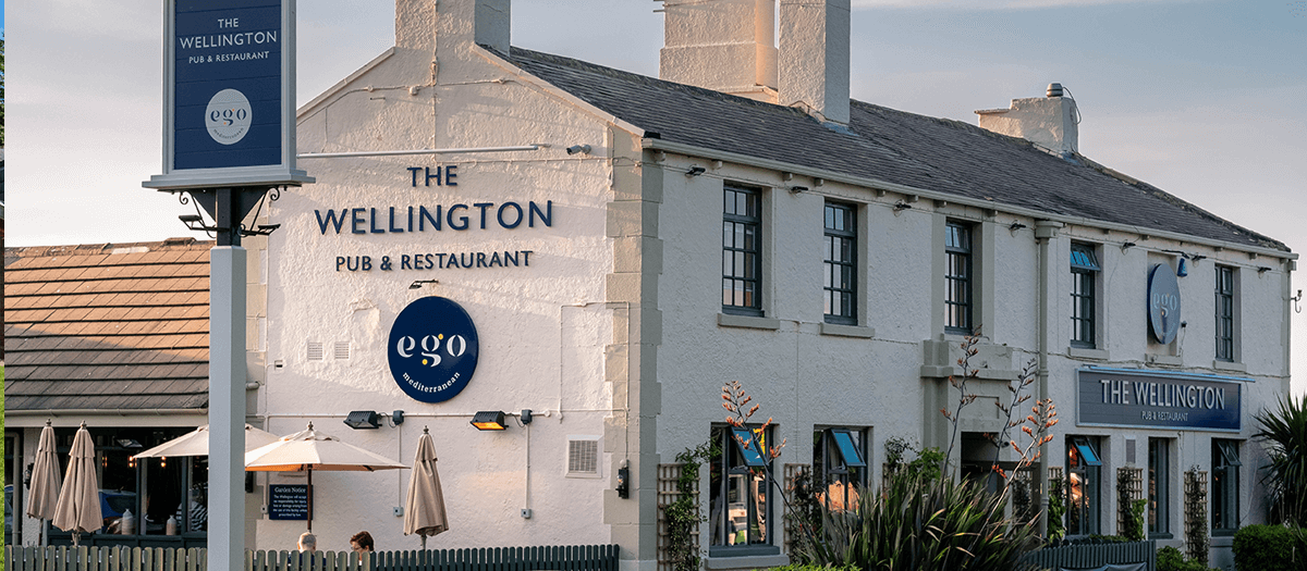 Ego at The Wellington, Shadwell, Venue